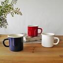 Enamel ホーローマグ Cup white plain simple white mug 250 ml diameter 7 cm x 7 cm fs3gm10P28oct13