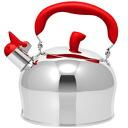 2.4 liters of horn apple kettle red (kettle)