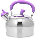 2.4 liters of horn apple kettle purple (kettle)