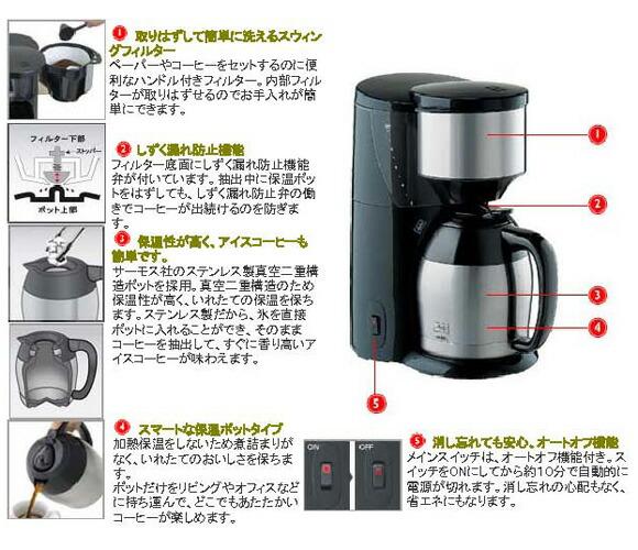 Coffee Maker With Best Taste : All-zakka Rakuten Global Market: Melitta aroma SAMO cups 10 cups fs3gm10P28oct13
