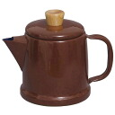 Fuji enamel IH-My-Pot made in Japan IH my pot 1.5 L Brown MP-1.5P-BR Kettle Kettle 10P22Nov13