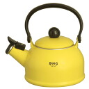 Fuji enameled BMS ( beams ) enameled Piper Kettle 1.6 L yellow BMP-1.6WK-Y IH200V-enabled fs3gm10P28oct13