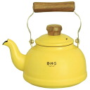 Fuji enameled BMS ( beams ) enamel Kettle 1.6 L yellow BMP-1.6K-Y IH200V-enabled 10P13oct13_b
