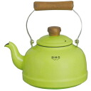 Fuji enameled BMS ( beams ) enamel Kettle 2.3 L Green BMP-2.3K-G IH200V-enabled 10P13oct13_b