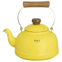 Fuji enameled BMS ( beams ) enamel Kettle 2.3 L yellow BMP-2.3K-Y IH200V-enabled fs3gm10P10Nov13