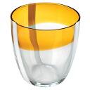 Guzzini ( guccini ) Table Art wine glass 6 p Orange 28690545 in gift box 10P20Dec13