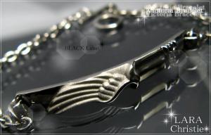 ララクリスティー LARA Christie ヴィクトリア ブレスレット [ BLACK Label ブラックレーベル] 【送料無料】【即納】【プレゼントに最適】10P03Dec16