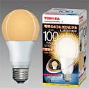☆Toshiba E-CORE LED bulb wide light distribution public electric bulb form 15. 7W electric bulb color E26 clasp public electric bulb 100W form equivalency 1, 520lm LDA16LG100W