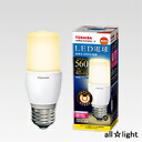 ☆ Toshiba E-CORE LED bulb T-shaped wide light 6. 7 W bulb color E26 mouthpiece general light bulbs 40 W murderously our 560 lm insulation materials construction equipment for LDT7LGS