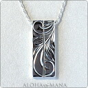 Hawaiian jewelry necklace pendants-ツインバーティカルペアネックレス SILVER925 cpdq25dsvpair