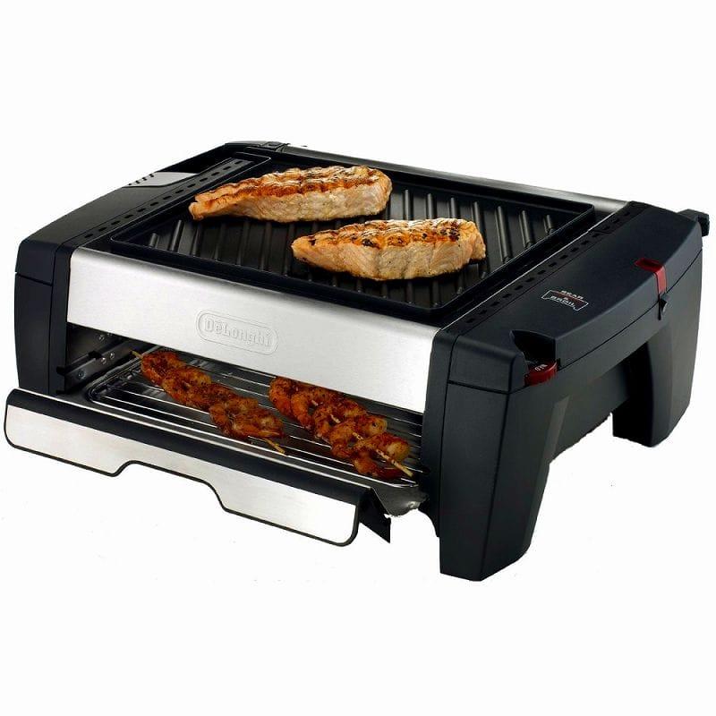 barbecue electrique delonghi bq 100