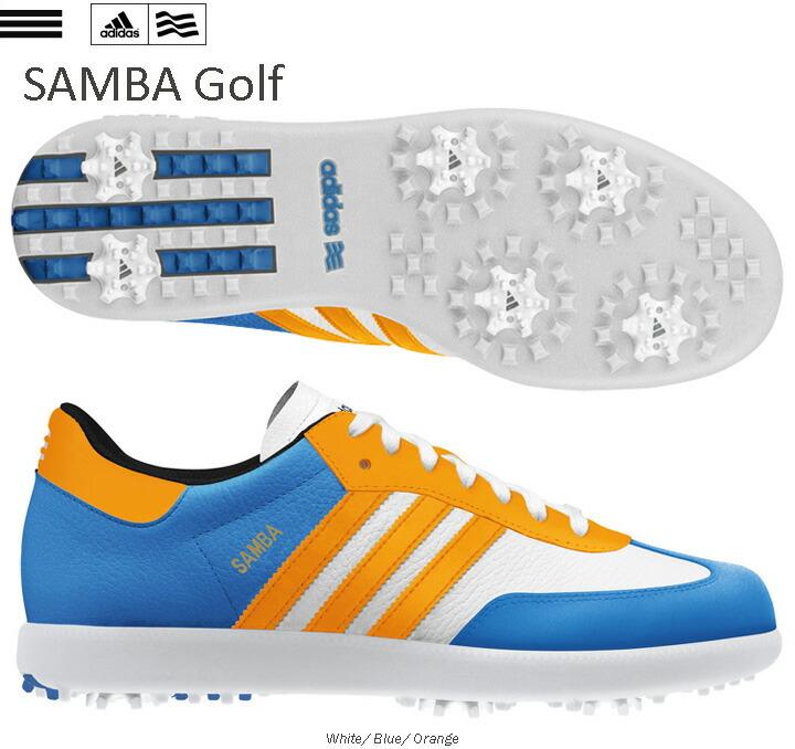 Adidas Samba on Feet Adidas Samba Golf Shoes