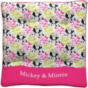 -Cushion (綿入 square / pink) ★ MM pop ★ ★ car accessories ★