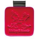 ● pressing cushion / square (red) ★ Mickey Minnie press ★ ★ car accessories ★ [708019]