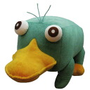 Phineas and Ferb toy-plush m (Perry)