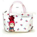 -Red Riding Hood and insulated lunch bag ( flower ) ★ storybook series ★