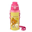 -Direct stainless steel bottle SB-500 B ★ I Love rilakkuma series ★