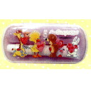 -Toothbrush with compact case (purple)