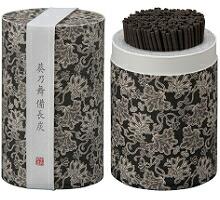 カメヤマローソクのミニ寸お線香 和遊(わゆう)シリーズ 葵乃舞備長炭