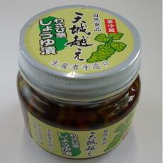 わさび醤油漬け 伊豆産わさび茎使用140gビン