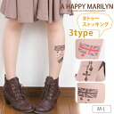 M ... big size lady's stockings tattoo tattoo tights []**[]**[]