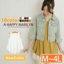 Large size Womens tops ■ add new colors! Sleeveless round hem tank top tunic original TANKTOP sleeveless M L LL 3 l 4 l 11, 13, 15, 17, K4 [[No.1602]] (tunicwampi tunic dress)