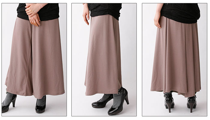 Lady's PANTS gaucho pants