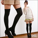 L-large size ladies ' stockings tights knee high wind color switching stockings L LL 11: 13 No. [[PNT6809A]] (spring summer fashion cute Black Black summer dresses legs knee high socks casual store Rakuten 20s 30s 40s fashion)