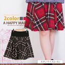 The ■ Marilyn original ska - Tosca - ト SKIRT skirt L LL 3L 11-13-15 large grain easy by L ... big size Lady's skirt ■ tartan checked pattern circular knee-length skirt waist lib
