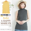 M ... big size Lady's tops ■ petit turtleneck no sleeve lib tank top inner ■ original tops tank TANKTOP-free M L LL 3L 4L 11 13 15 17 K4 [[No. 2131]] Slightly bigger
