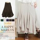 M-large size ladies skirt ■ escargot long skirt Marilyn original ■ S-large size Womens skirts long skirts long ska - g free M L LL 3 l 11 no. 13, no. 15, No.156 ska - g すかーと