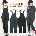 * M-large size Womens pants ■ casual style boyish overalls pattern of pinstripes and checks ■ salopette all-in-one overalls M L LL 3 l 4 l 11, 13, 15, 17, [[685037]]