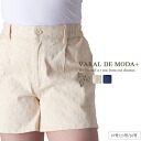 Large size ladies shorts ■ embroidery pattern Shorts ■ Pants PANTS pants shorts large SHORTPANTS shortpants 19 No. 23 (26) [[P416-13]]
