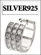 SILVER925 (シルバー)ピアス