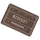 四角型チョコのコースタービスケット10枚2000円