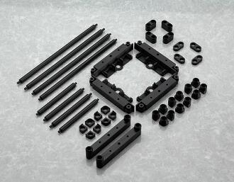 ディスプレイベース di:stage(ディステージ) 拡張(エクステンション)セット01 レイヤーユニット ブラックver.(di:stage: Expansion Set 01: Layer Unit Black ver.(Released))