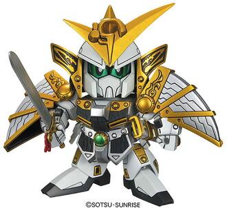 BB戦士 戦国伝 武神降臨編 上杉謙信頑駄無(うえすぎけんしんガンダム) プラモデル(BB Senshi Sengokuden: Bushin Kourin Arc - Kenshin Uesugi Gundam Plastic Model(Released))
