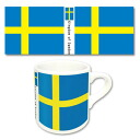 Flags of the World - Mug N: Sweden(Back-order)