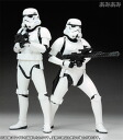 Star Wars ARTFX+ Storm Trooper Build Pack Pre-Painted PVC Assembly Kit 2 Figure Set(Back-order)