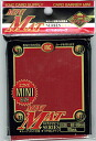 Card Barrier Mini Matte Red (Pack of 50 Sleeves) (Back-order)