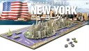 Jigsaw Puzzle 4D City Scape Time Puzzle New York 700pcs (77-047)(Back-order)