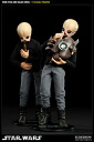 Star Wars 1/6 Scale Fully Posable Figure: Creatures Of Star Wars - Tedn D'hai & Nalan Cheel (Modal Nodes)(Back-order)