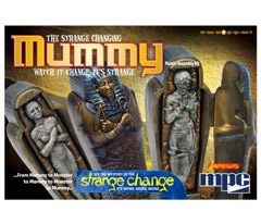 STRANGE CHANGE 1/12 マミー プラモデル[MPC]《取り寄せ※暫定》(1/12 Strange Change - Mummy Plastic Model(Back-order))