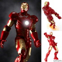 Tokusatsu Revoltech No.036 Iron Man Mark. 3(Back-order)
