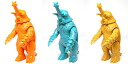 Retro Color Trio - Megalon 1973 Soft Vinyl Figure 3pcs Set(Back-order)