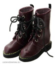 Papa's Boots Dark Red (DOLL CLOTHING)(Back-order)