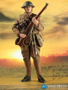 British Infantry 1914-1918 Albert Brown Action Figure (Regular Edition)(Back-order)