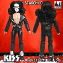 KISS Retro 8 Inch Action Figure Series 2 The StarChild (Bandit Mask Edition)(Back-order)