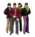 Beetles/ Yellow Submarine 12inch Action Figure 4 Type Set(Back-order)