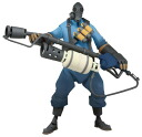 Team Fortress 2 - 7 Inch Action Figure: Pyro (BLU Version)(Back-order)
